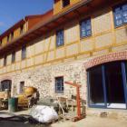 Sanierung 4-Seitenhof bei Dresden in Lehmbauweise